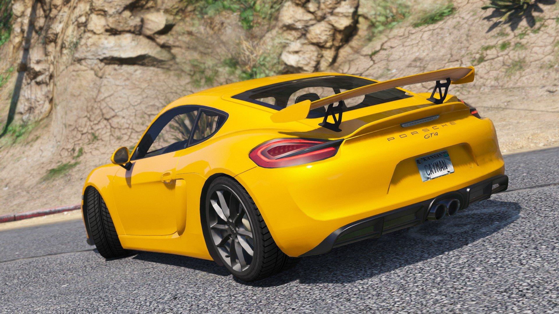 Porsche Cayman GT4 for GTA 5