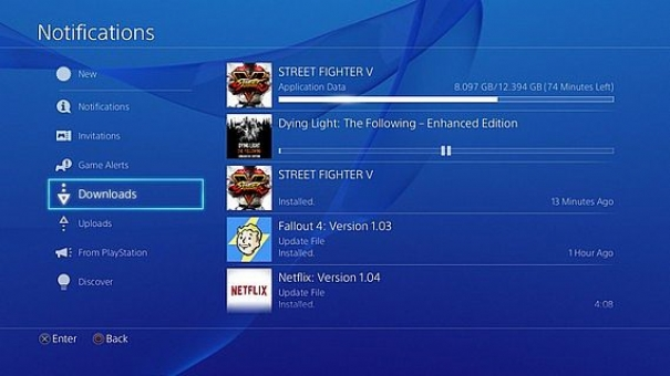 Street Fighter V: That's the size of the digital version for PS4