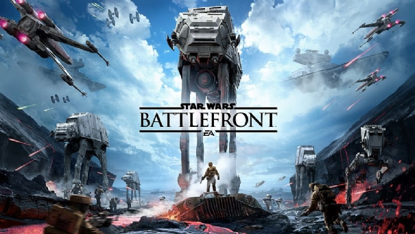 Two very short gameplay clip from PS4 to Star Wars: Battlefront
