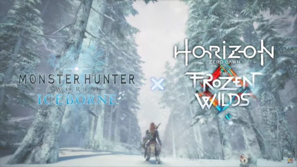 Horizon: Zero Dawn and Monstrr Hunter World: Iceborne meet