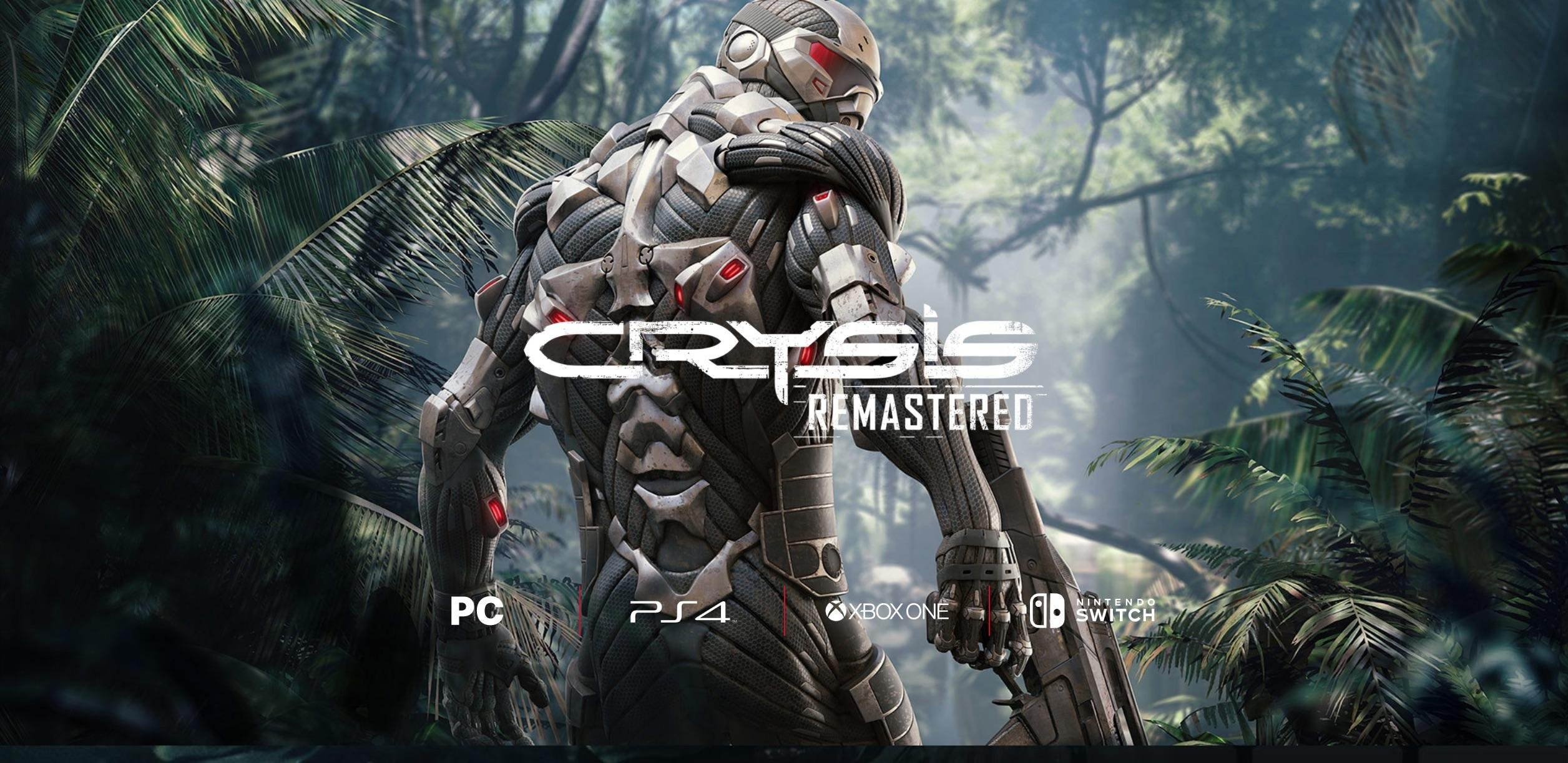 Crysis Remastered, Crytek rethinks it: postponed trailer and game