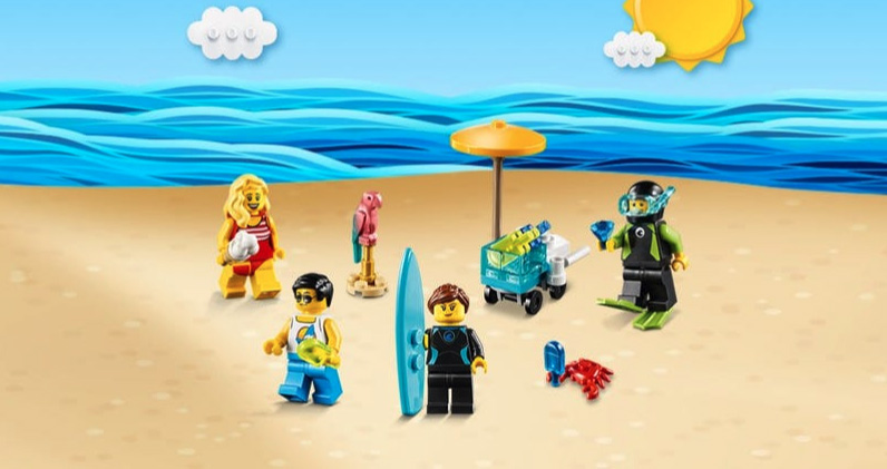 Spend € 75 on the LEGO Store, a set of exclusive minifigures as a gift