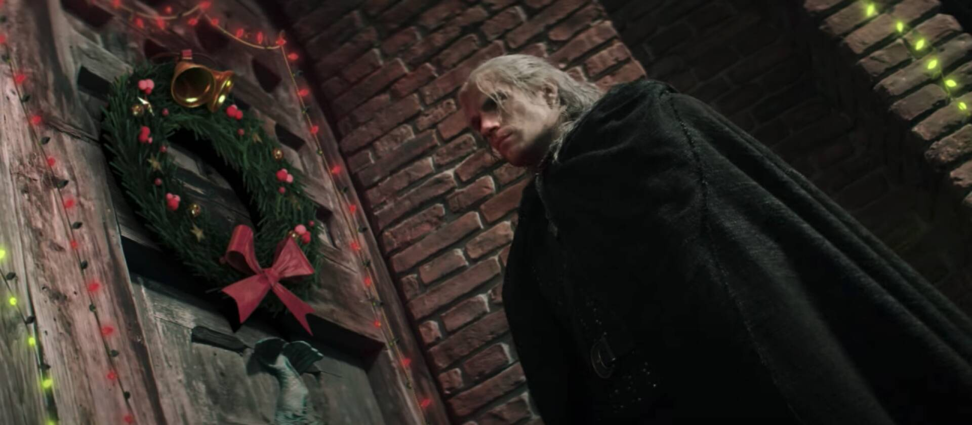 Geralt is practically the grinch in The Witcher frenzied Christmas trailer