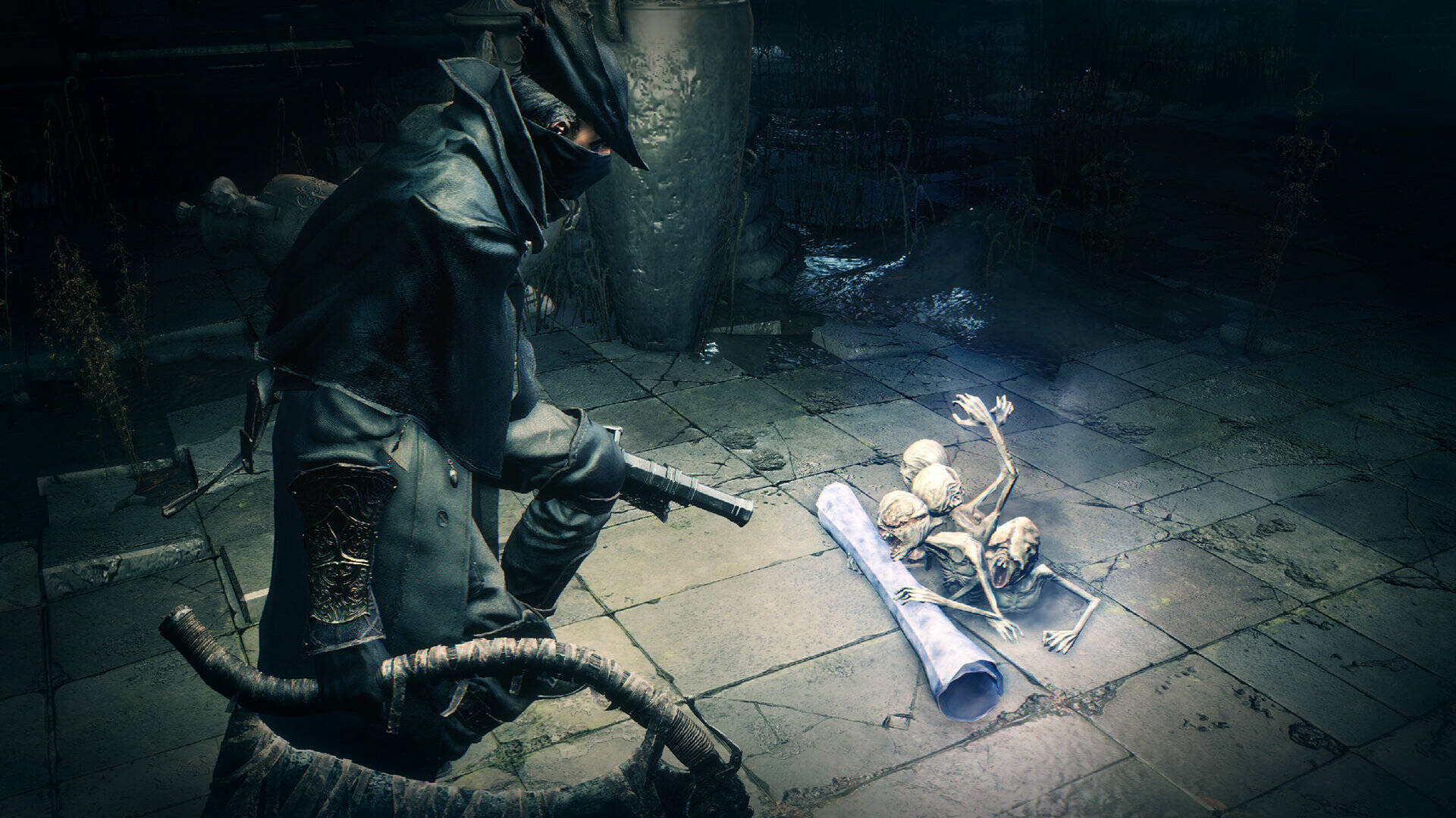 Bloodborne PSX is (really) taking shape, and is playable in multiplayer as well