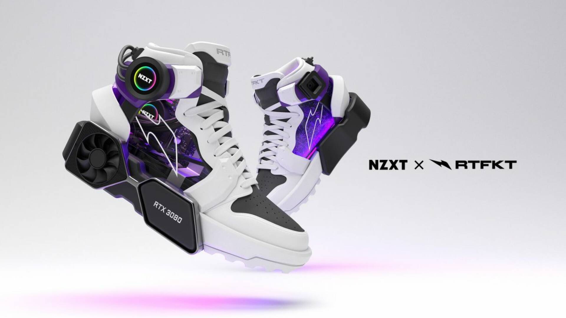 Here are the shoes for PC gamers that mount an RTX 3080 (not a joke)