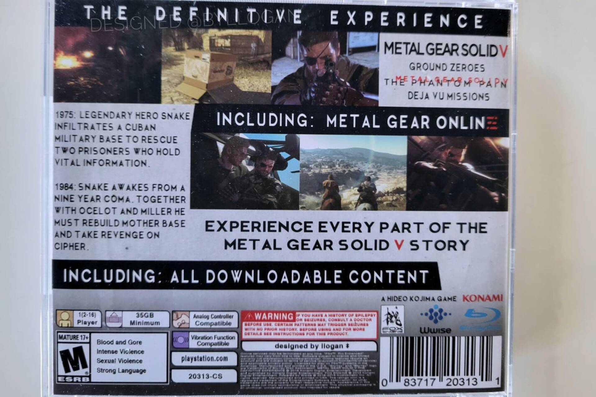Metal Gear Solid V, but for PSOne (and the result is exciting)